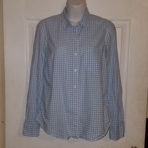 Excellent GAP Boyfriend Fitted Top Blouse